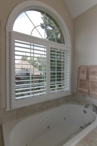 Tempered glass is required above the bathtub